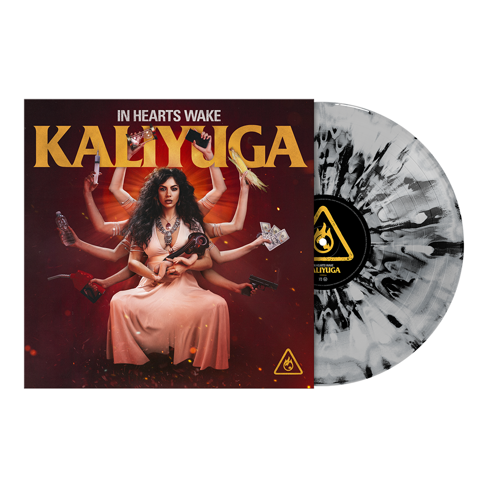 "Kaliyuga 12"" Vinyl (ASH - Black and Grey Marble)"