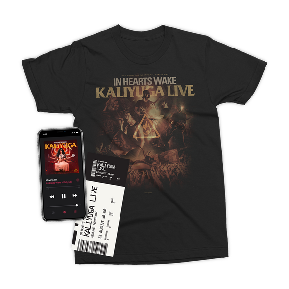 Kaliyuga Live Ticket + Album Digital Download + T-Shirt