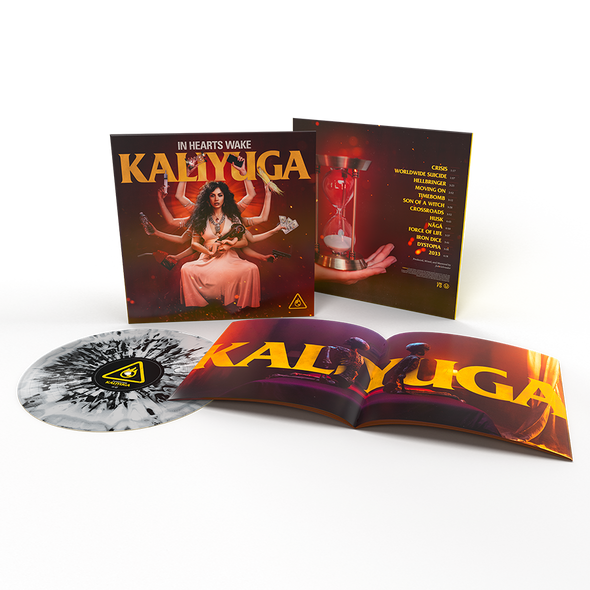 "Kaliyuga 12"" Vinyl (ASH - Black and Grey Marble) // PREORDER"