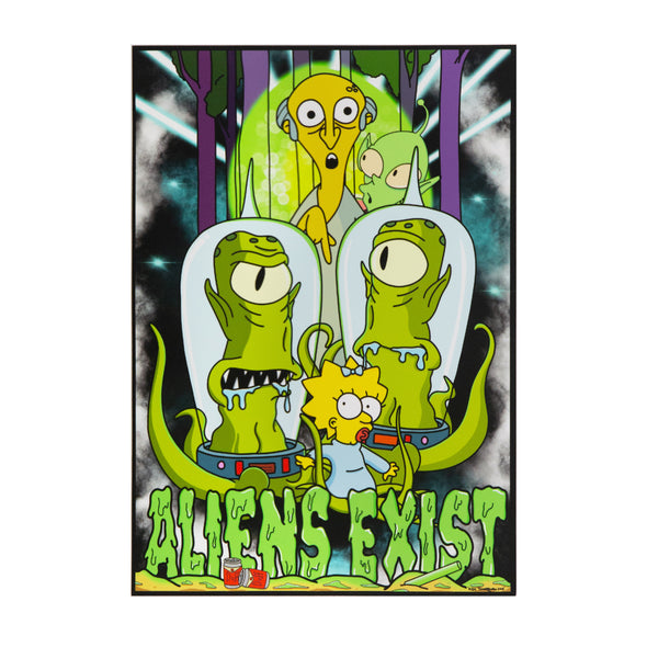 Aliens Exist Part II A3 Print