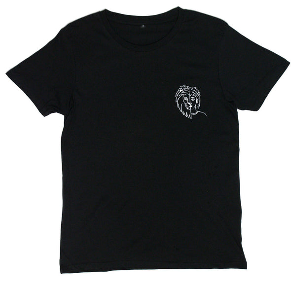 Riley Pierce merch Lion Tee (Black)
