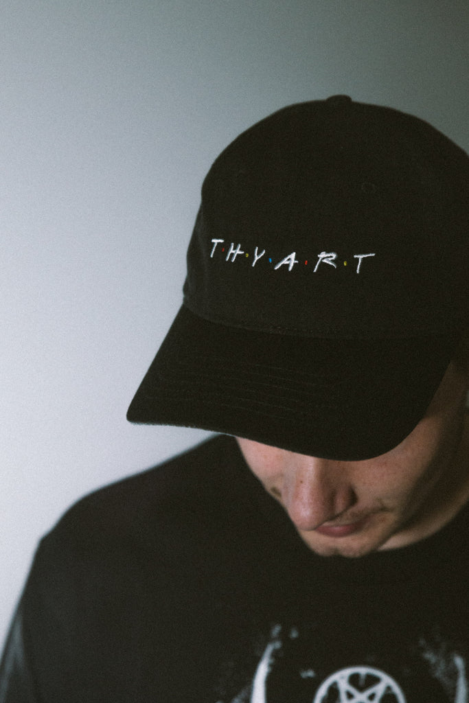 Thy Art Is Murder merch Friends Cap (Black)