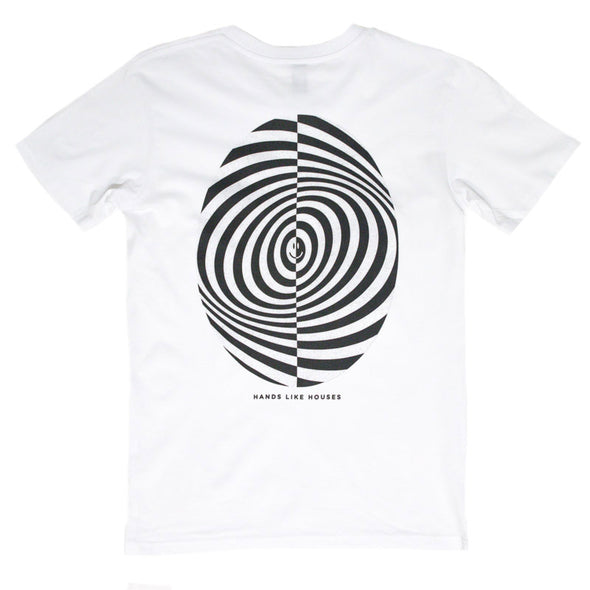 af043523 ... Hands Like Houses merch Abstract Oval Tee (White)