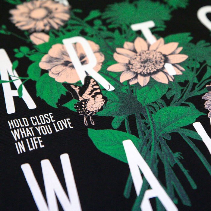 Wildflower Tee (Black)
