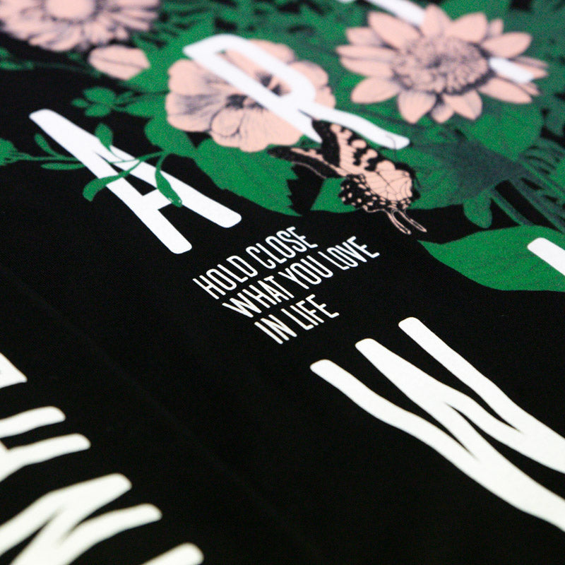 Wildflower Long Sleeve (Black)