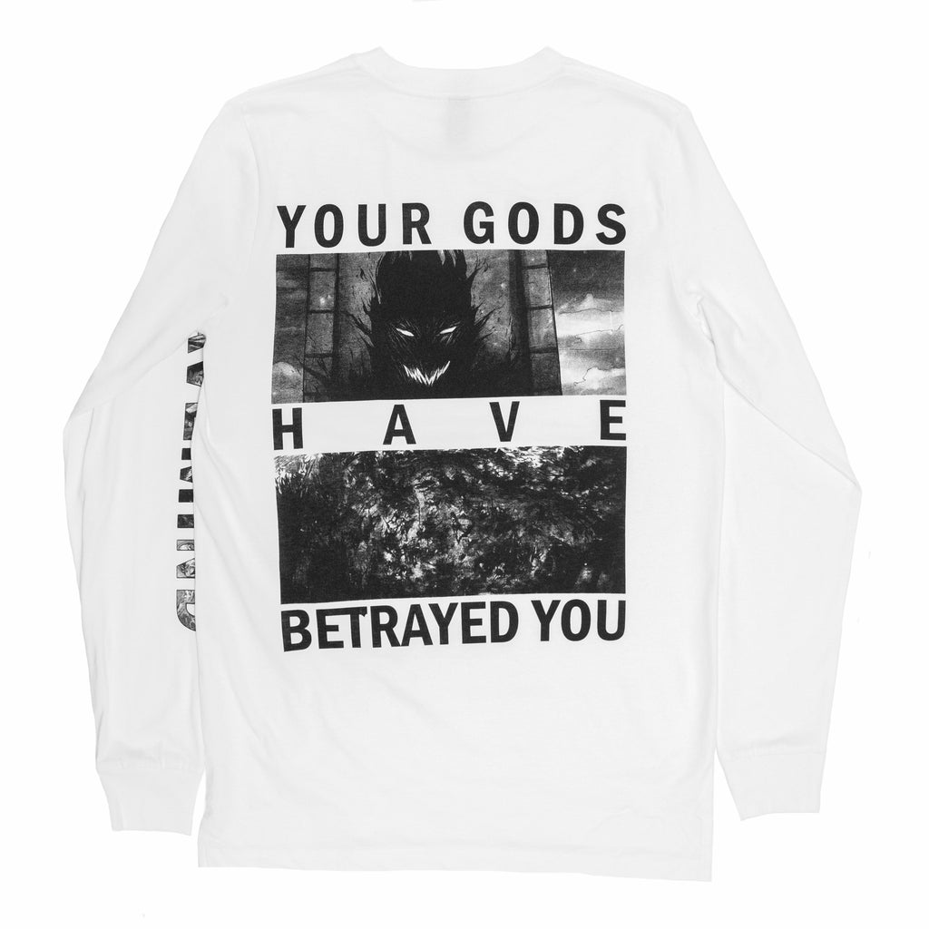 The Death Of Teyolia Long Sleeve (White)