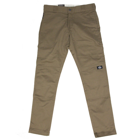 Skinny Straight Pants (Brown)