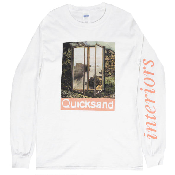 Quicksand merch Mirror Longsleeve (White)