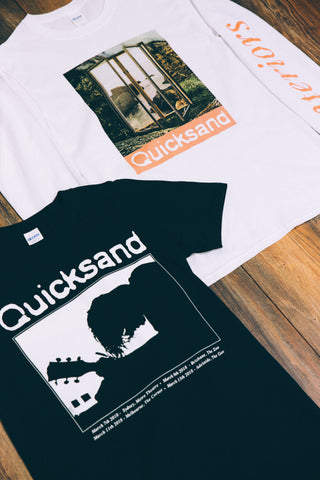 Quicksand merch Silhouette Tee (Black)