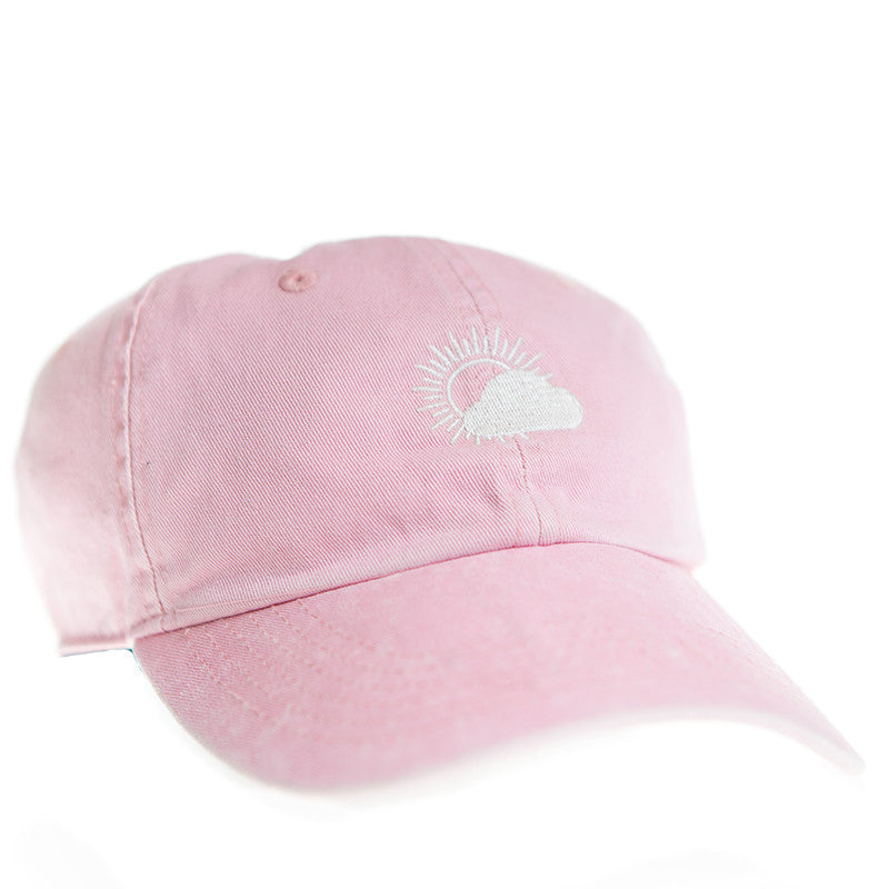 With Confidence Official Merch - Better Weather Cap (Pink Wash)