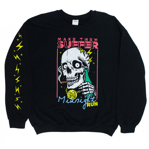 Midnight Run Crewneck (Black)