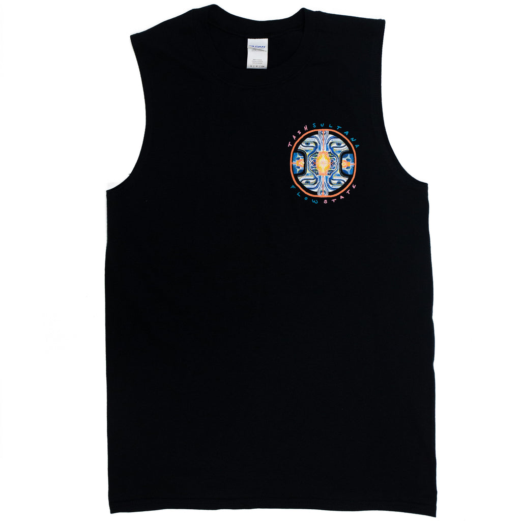 Flow State NZ Tour Sleeveless (Black)