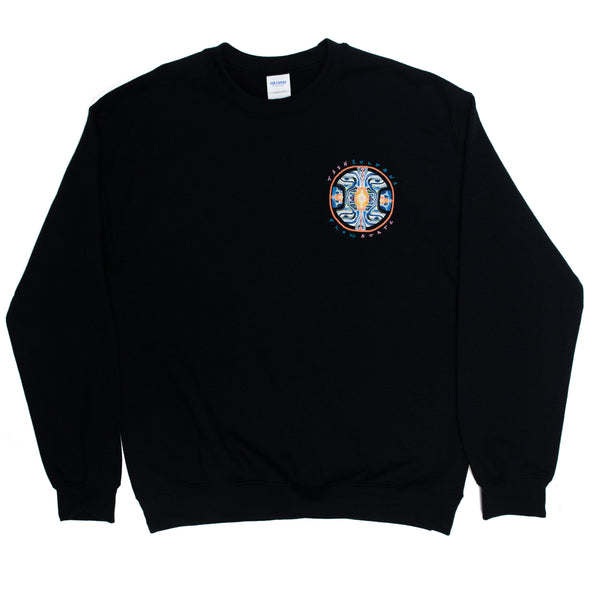 Flow State Crewneck (Black) + Digital Download