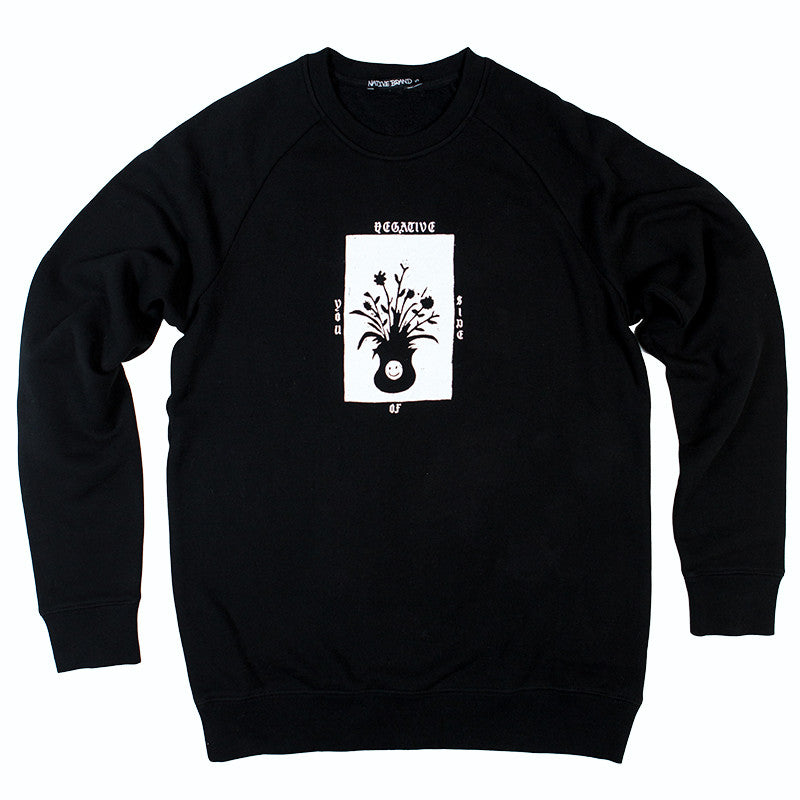 Negative Side Of You Crewneck - Black