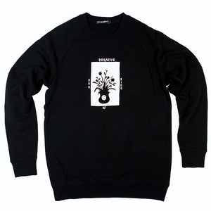 Native Brand Official Merch - Negative Side Of You Crewneck - Black