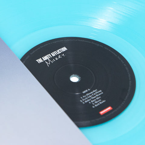 "Misery 12"" Vinyl (Electric Blue)"