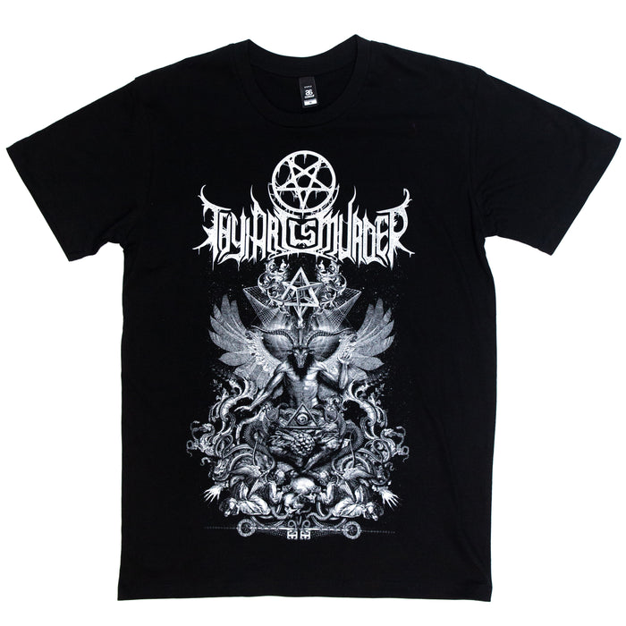 Baphomet Wings Tee (Black)