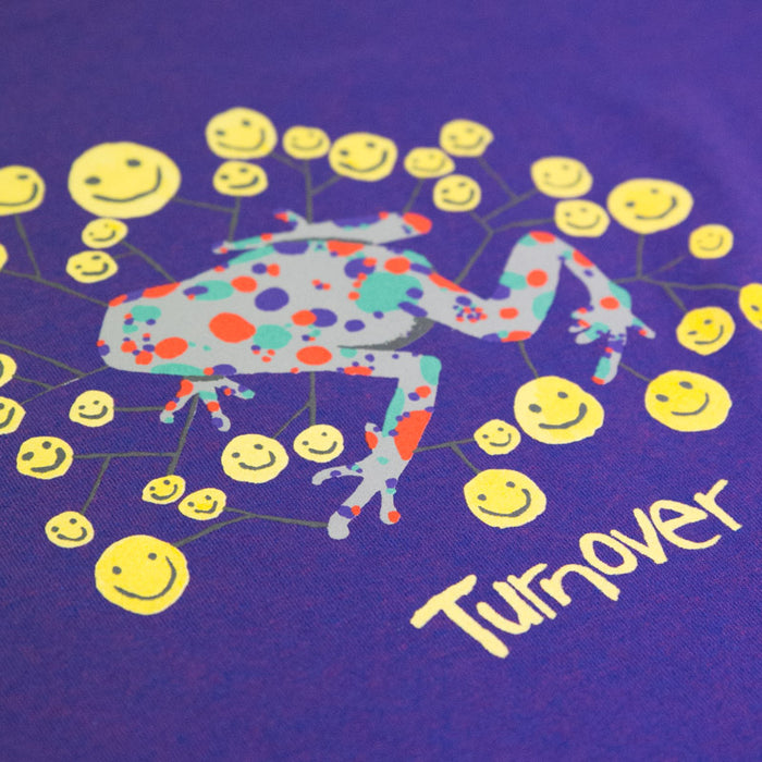 Turnover merch Frog Tee (Purple)