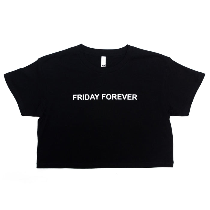 Friday Forever Crop Top (Black)