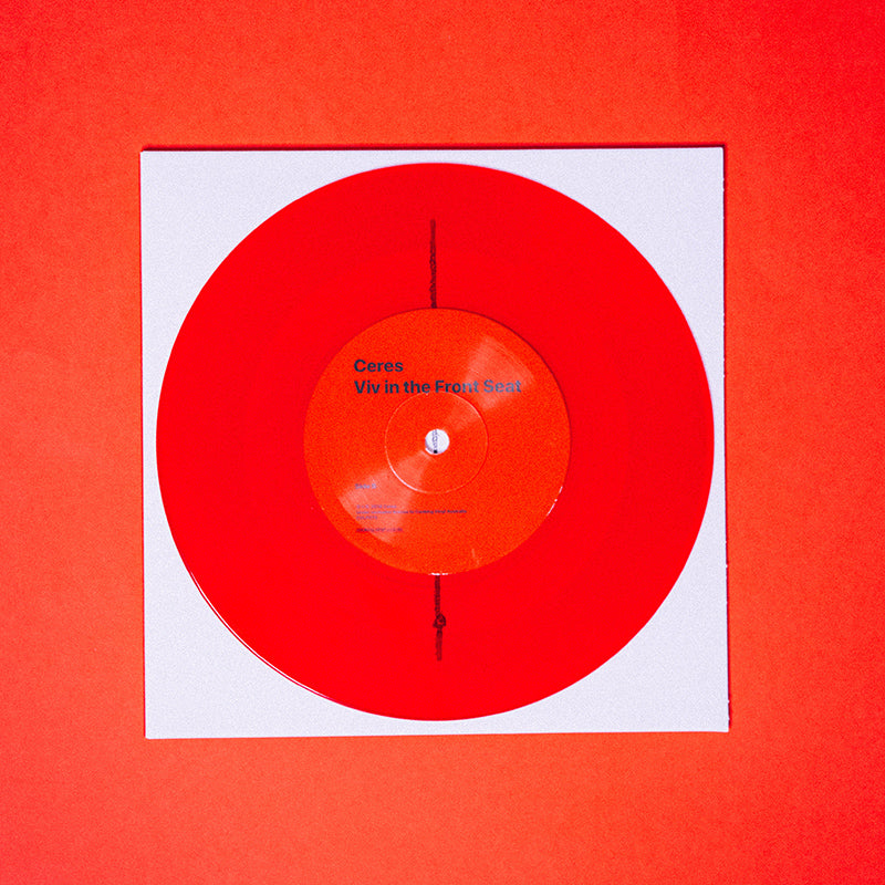 "Viv in the Front Seat 7"" Vinyl (Transparent Blood Red)"