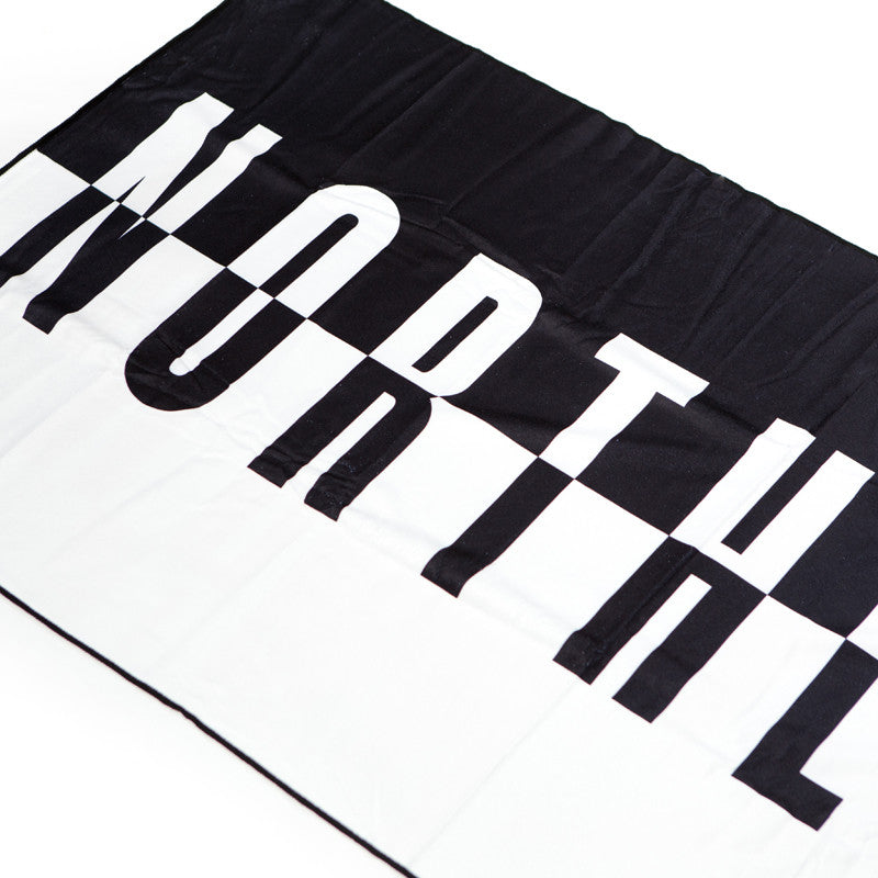 Split Logo Beach Towel