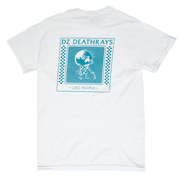 DZ Deathrays merch Like People Tee (White)
