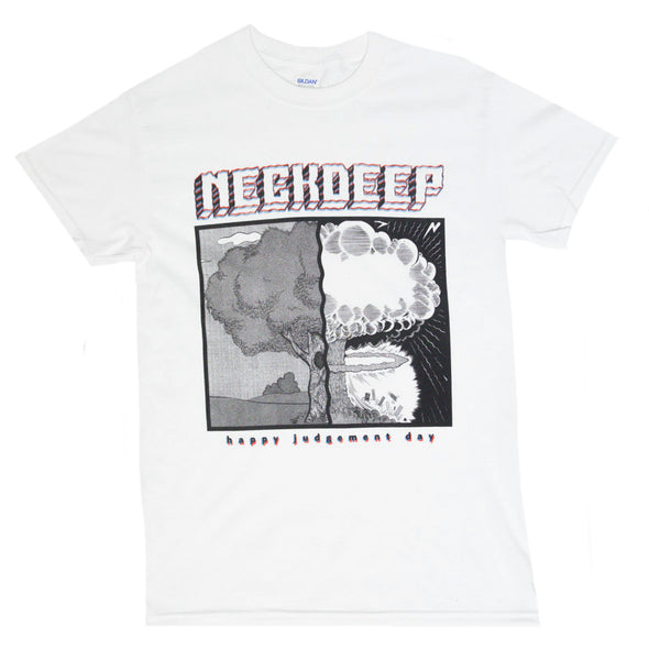 Happy Judgement Day Tee (White)
