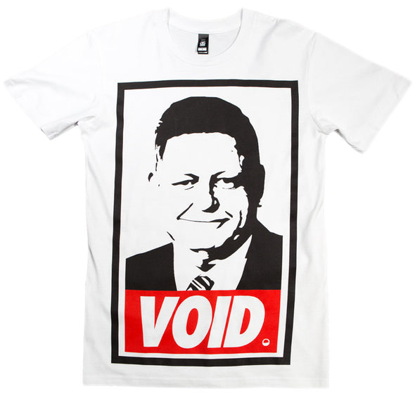Void Of Vision Official Merch - Void Tee (White)