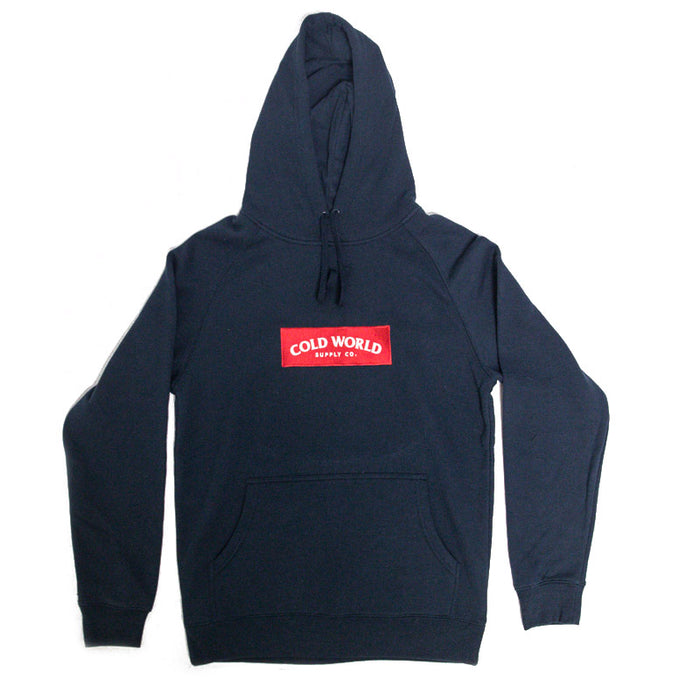 Supreme Box Embroidered Hoodie