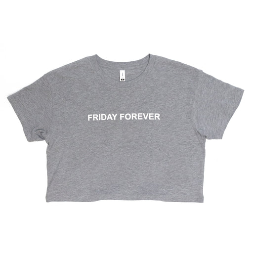 Friday Forever Crop Top (Grey)