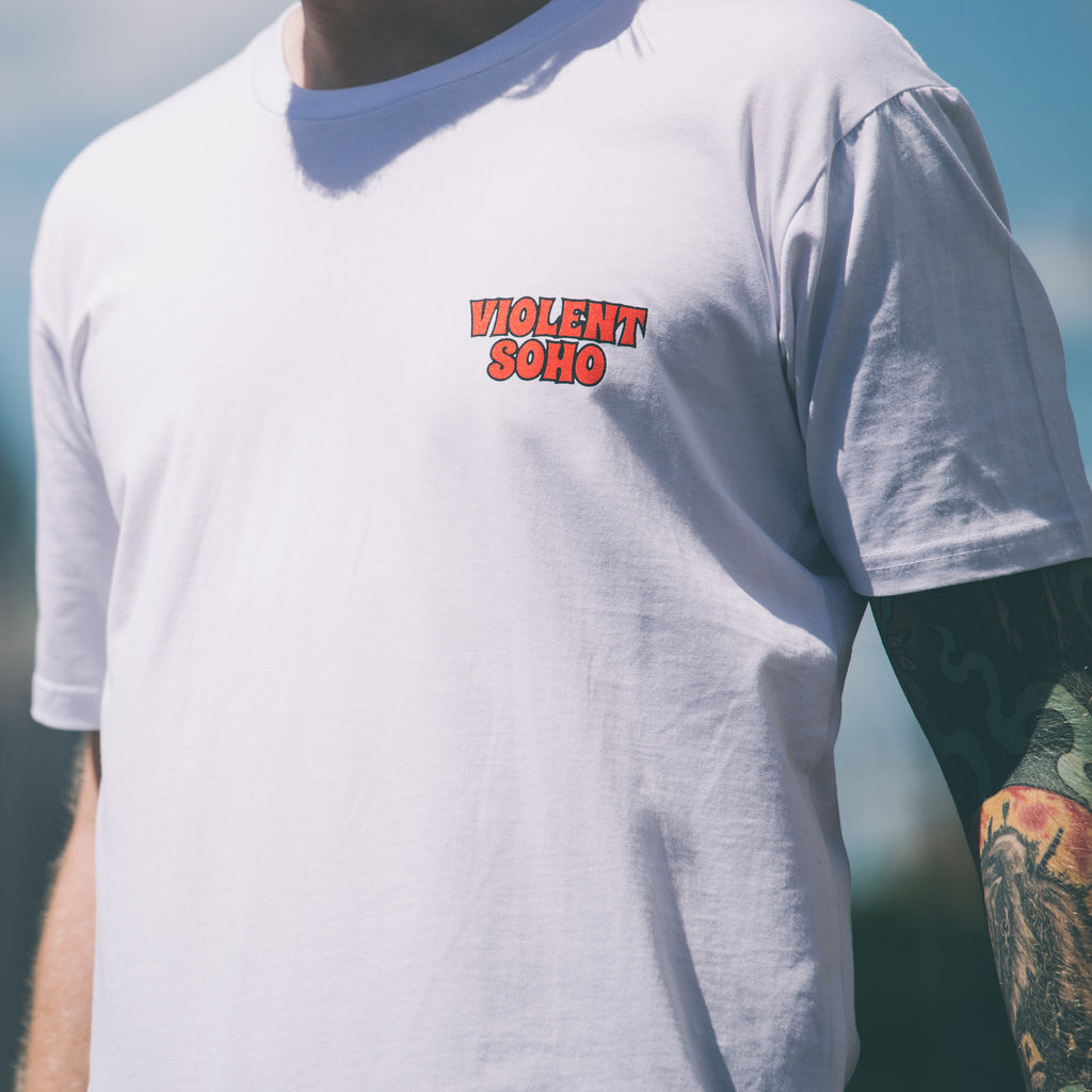 Sacrifice Tee - White