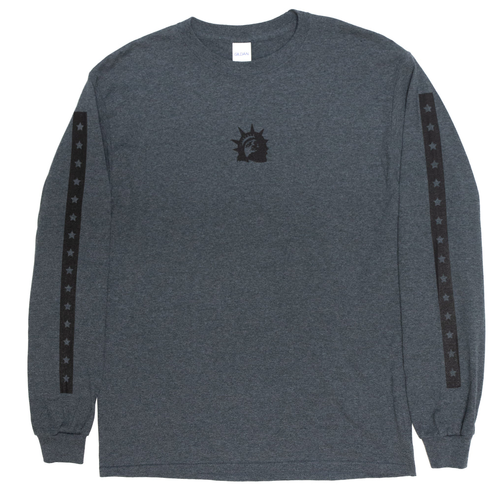 Liberty Head Longsleeve (Grey Marle)