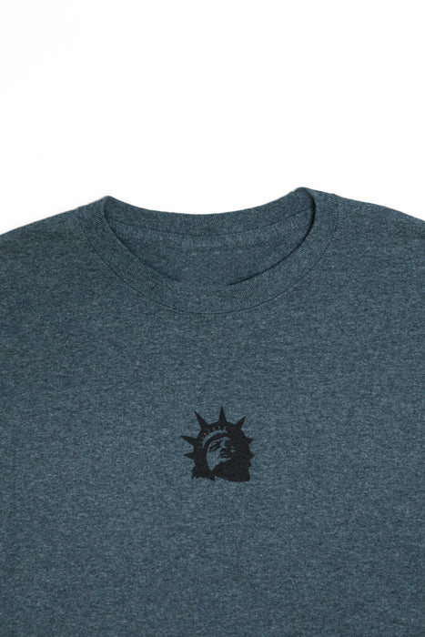 Liberty Head Longsleeve (Dark Grey)