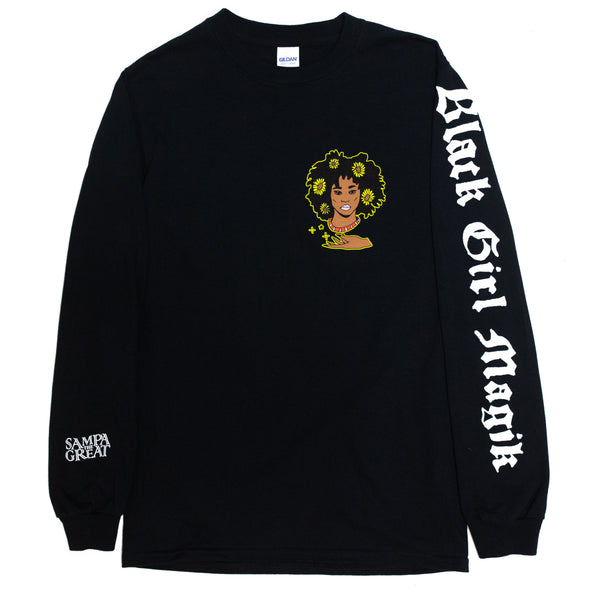 Black Girl Magik Long Sleeve (Black)