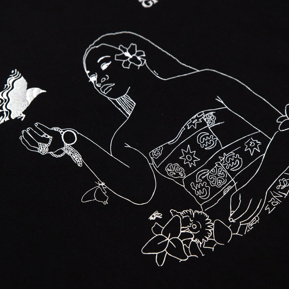 Birds and The BEE9 Stencil Tee (Black)