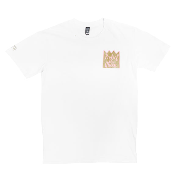 Protect Your Queen Tee (White)