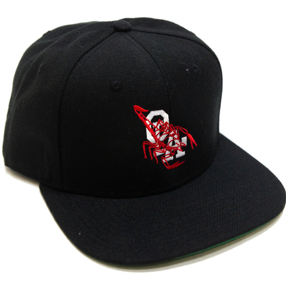 OLA Scorpion Snapback (Black)