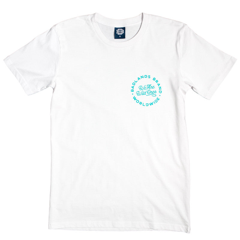 Badlands Official Merch - Mountains Tee (White)