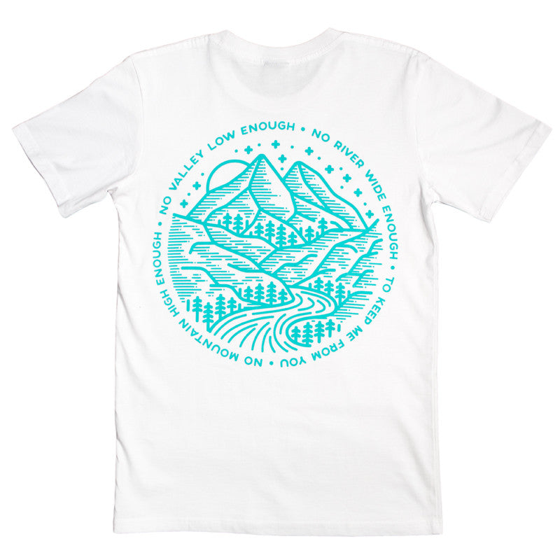Mountains Tee (White)