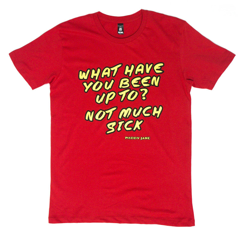 Lyrical Genius Tee (Red)