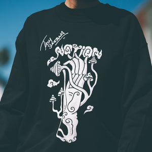 Tash Sultana Official Merch - Notion Crewneck (Black)