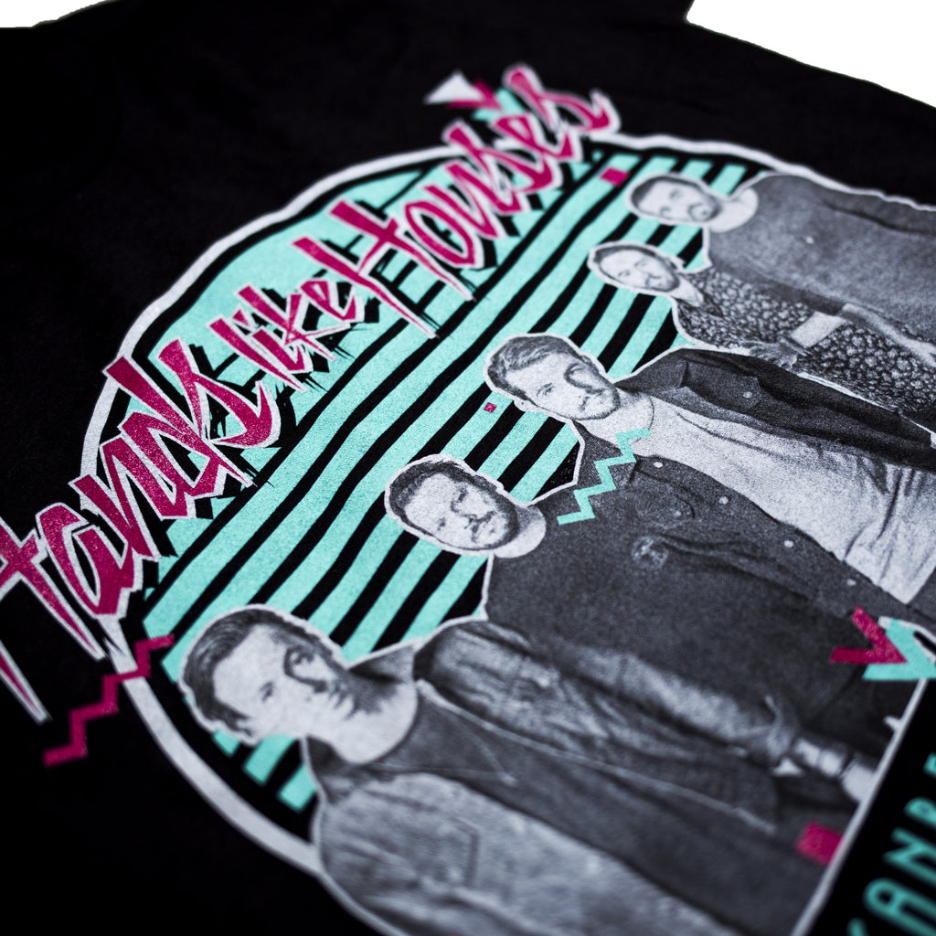 HLH Retro Tee (Black)
