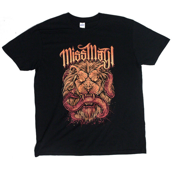 Lion vs Snake Tee (Black)