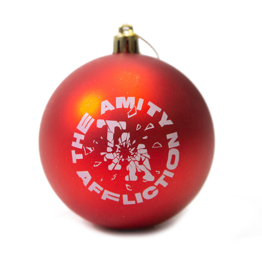 Shattered TAA logo Ornament (Red)