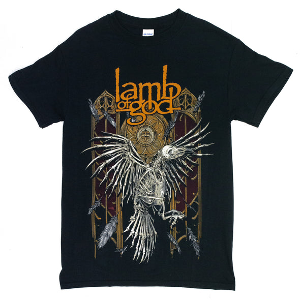 Lamb of God Crow Tee (Black)