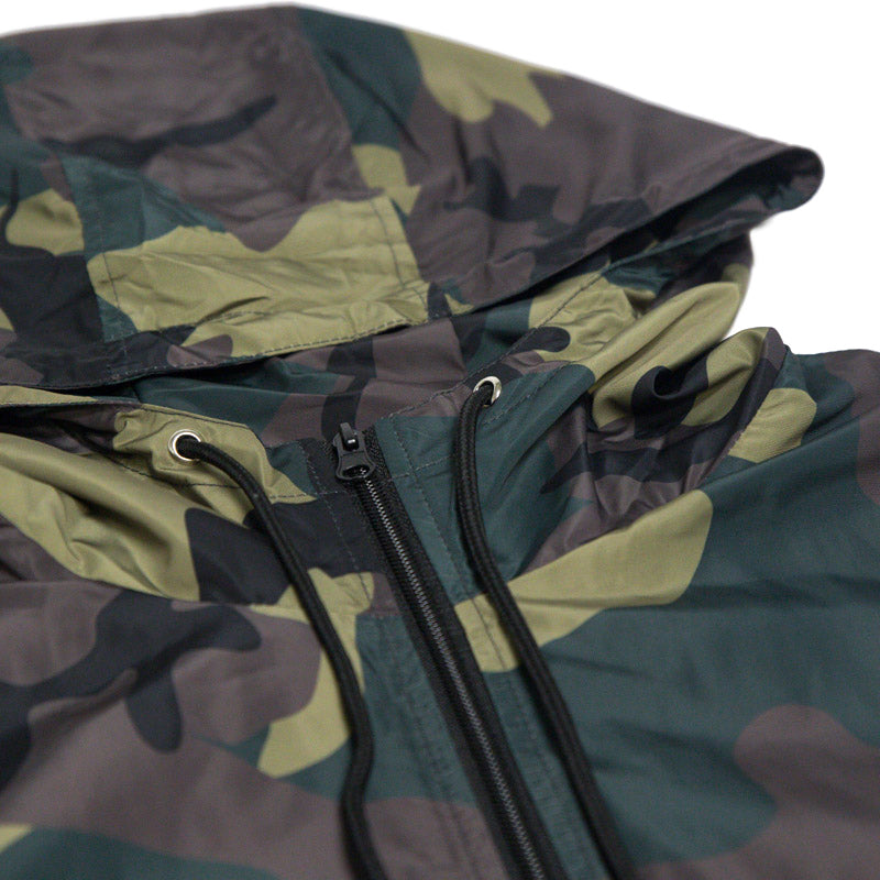 Zip Up Windbreaker (Camo)