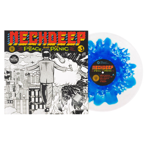 "The Peace And The Panic 12"" Vinyl (Blue Inside Clear with Clear Splatter)"