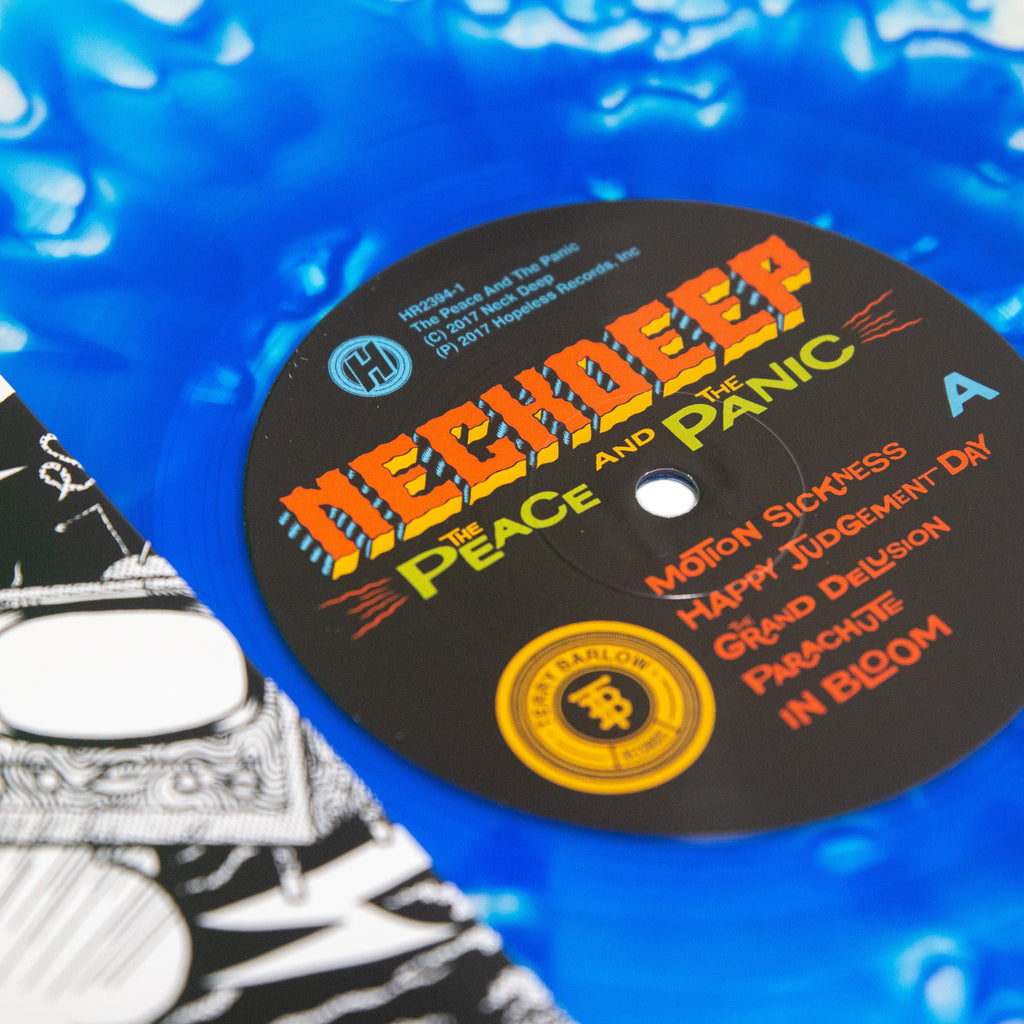 The Peace And The Panic 12 Quot Vinyl Blue Inside Clear With