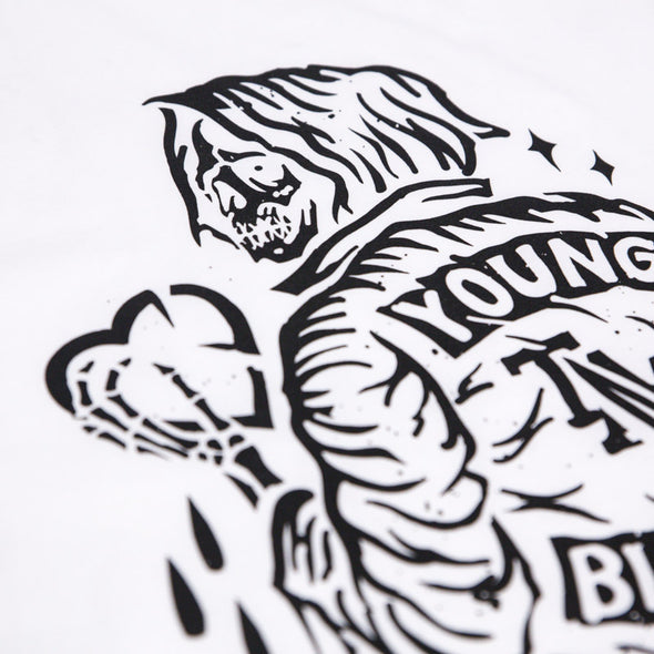 Youngbloods Knife Sleeveless (White)