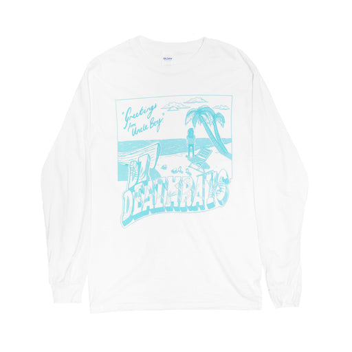 Greeting From Uncle Boy Longsleeve (White)